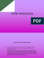 TOPIK-JUDUL-PENDAHULUAN