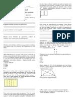 Atividade Para Nota II - Princípio Multiplicativo e Permutação