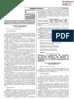 Disponen la publicación del proyecto de Decreto Supremo que aprueba el Reglamento del Sistema de Arbitraje de Consumo en el Portal Institucional del INDECOPI