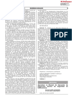Aprueban el Manual de Ejecución de Inspección Técnica de Seguridad en Edificaciones