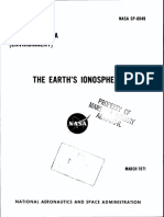 NASA - Sp8049 - Space Vehicle Design Criteria - The Earth's Ionosphere