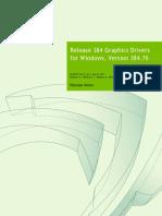 384.76 Win10 Win8 Win7 Desktop Release Notes