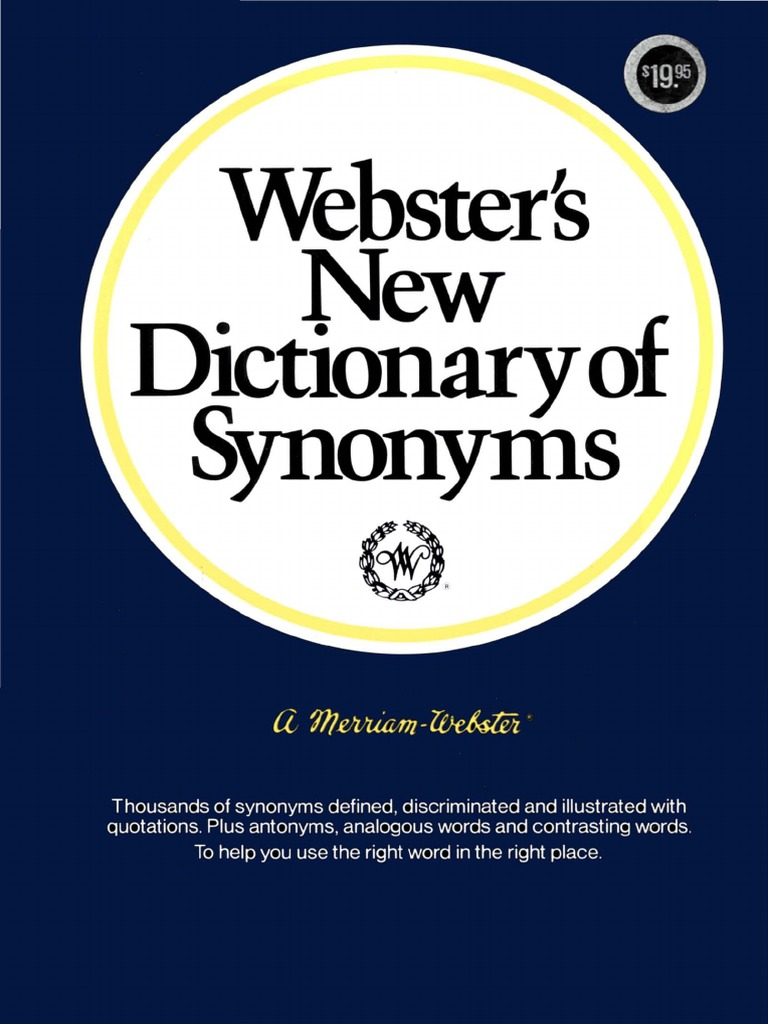 Websters new dictionary of synonyms 1984pdf dictionary websters new dictionary of synonyms 1984pdf dictionary definition m4hsunfo