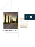 Analisis Granulometrico de Agregados