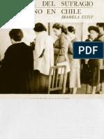 crónica del sufragio femenino en Chile