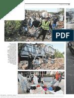 Diario ABC de Madrid, España 28-02-2010 Chile Sufre El Segundo Gran Seísmo en América Este Añoꓽ Más de 200 Muertos (2).