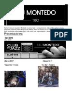 Biografía Lilu Montedo Trío