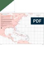 Atlanic Hurricane Tracking Chart