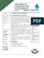 8. Lab #8 - Visualizacion Del Flujo en Canales