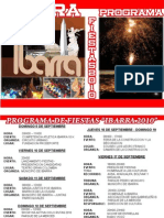 Diptico Fiestas de Ibarra - Jhonny Morocho