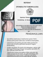 SpondilitisTB