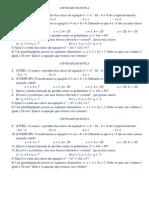 ATIVIDADE EM DUPLA Sobre Polinômios e Girard 12 Cópias