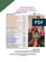 DIPLOMADO EN FUNDAMENTOS DE PSICOLOGÍA APLICADA