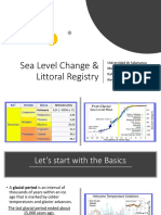 Sea Level Change and Littoral Registry