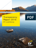 EY Luxembourg 2016 Transparency Report