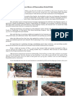 For NCPMU- Success Story of Dayondon Dried Fish