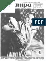 Publicacion Estampa de Mayo de 1935 - Burguillos de Toledo