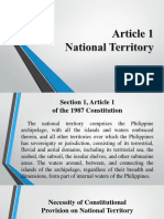 Article 1 of the Philippine Constitution