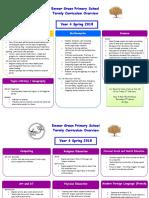 Year 4 Parent Curriculum Plan Spring 2018