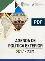 Politica Exterior Ecuador 2017-2021