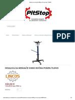 Dizalica Za Menjače 500kg Ručna Pumpa TL0903