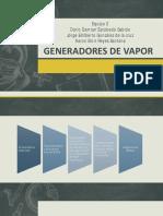 Generadores de Vapor.