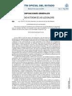 Ley 12/2017, de 29 de diciembre, de urbanismo de las Illes Balears.
