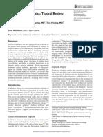 Plantar Fibromatosis—Topical Review FAI 2013