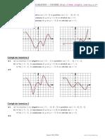 Tableau Variation Courbe 2 Corrige
