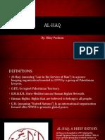 al-haq presentation