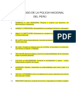 Letra - Decalogo de La Policia Nacional