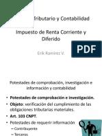 Derecho Tributario y Contabilidad - Erick Ramirez
