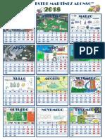 Calendario Normalización 2018
