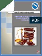 Reglamento Del Colegio de Contadores Públicos de Costa Rica a La Ley N 1038