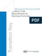 ACI 318-14 CrossReference 2014to2011