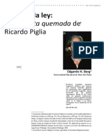 21 DOSSIER 14 Edgardo H Berg Fuera de La Ley Sobre Plata Quemada de Ricardo Piglia