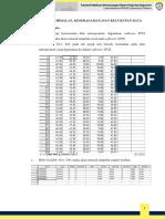Tutorial Uji Kenormalan Keseragaman Dan Kecukupan Data