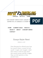 music emerging magazine
