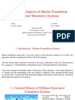 Behavioural Aspects of Marine Foundation Systems/ Offshore structures