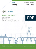 PES Technical Report Template Jan 2016