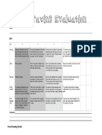 graphite evaluation sheet