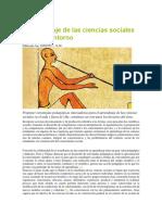 Ciencia sociales
