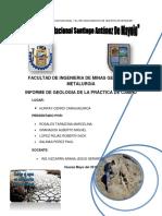 Informe 1 de Geologia