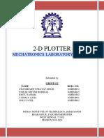 2D PLOTTER Using Matlab