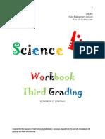 Science Workbook 3rd