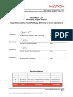 HAZOp Report - BFI PDF
