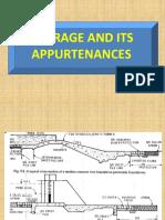 Barrage and Its Appurtenances