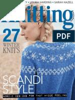 Knitting January 2018