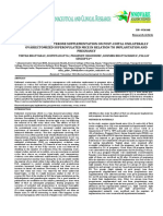 EFFECT OF PROGESTERONE SUPPLEMENTATION ON POST-COITAL UNILATERALLY OVARIECTOMIZED SUPEROVULATED MICE IN RELATION TO IMPLANTATION AND PREGNANCY