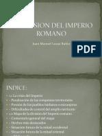 La Division Del Imperio Romano